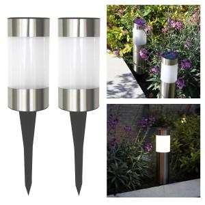 Solar Gartenleuchten – Frostfire Small Solar Post Lights