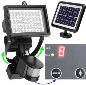 Solar Strahler mit Bewegungsmelder