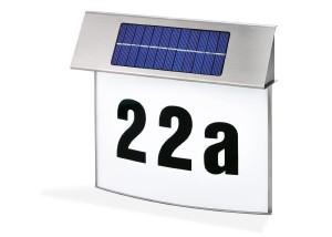 """Solar Hausnummer - Esotec Solar LED Hausnummernleuchte """"Vision"""""""