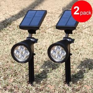 Solar Gartenleuchten – LED Außen-Rampenlicht