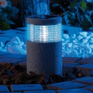 Solar Gartenleuchten – Lunartec Mini-Solar-LED 4er Set