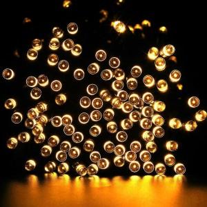 Solar Lichterkette in Warmweiß LED