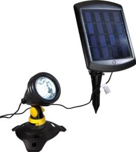 Solar Teichbeleuchtung – Wetelux Unterwasser LED-Strahler