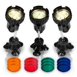 Teichbeleuchtung im Test - LED Spotlight Unterwasserbeleuchtung