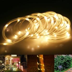 Solar Lichterkette LED Außen