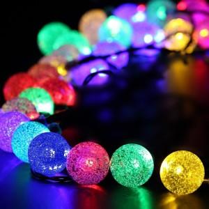 Solar Lichterkette LED Effekt Außen