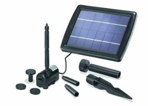 Solar Teichpumpe im Test – Esotec Solarpumpe