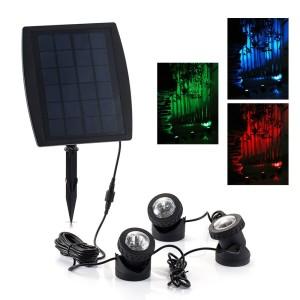 Teichbeleuchtung Solar – GRDE Solar Unterwasserstrahler