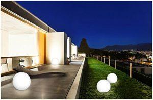 Bonetti LED Solar Kugelleuchte