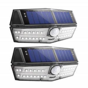 MPOW Solarstrahler mit Bewegungsmelder 2er Set