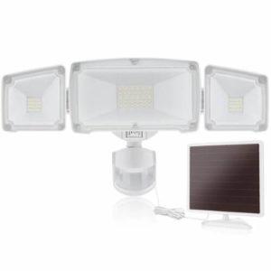 SOLLA LED 3 koepfiger Solarstrahler mit Bewegungsmelder