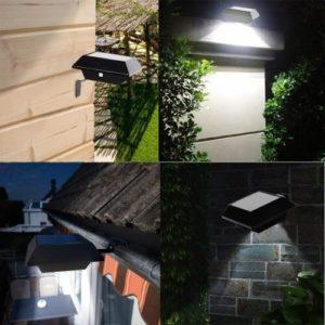 Uniquefire Dachrinnenbeleuchtung Solar
