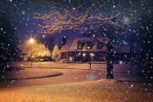 Außenbeleuchtung für Weihnachten mit Solarleuchten